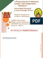 CLASIFICACIONDE MINERALES