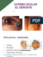 Traumatismo Ocular en el Geronte
