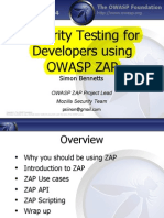 Con5320 Bennetts-owasp Zap 2014 Javaone