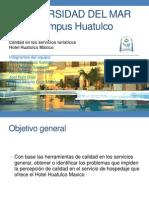 Presentación Calidad Hotel Maxico