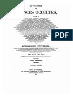 Ocultismo-collin de Plancy- Diccionario Ciencias Ocultas Tomo 1
