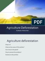 agriculture deforestation