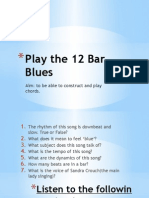 2 Play the 12 Bar Blues