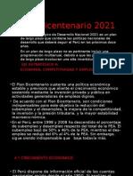 Plan Bicentenario 2021