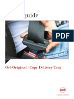 Océ Original Copy Delivery Tray Safety Guide en.us