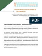 Ficha VIII MNU - Ciberterrorismo (Consejo de Seguridad)
