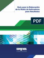 B - Guía Para La Elaboración de Matriz de Indicadores Por Resultado
