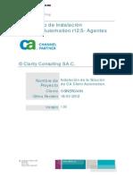 Documento de Instalacion - GMD Osinergmin - Agente v1.0
