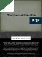 Manajemen dalam islam.pptx