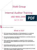 Internal Audit Classroom Training