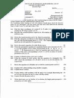 CAD question paper