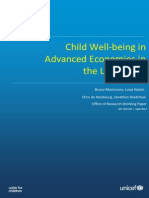 Child Well Being in Advanced Economics