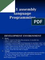 8051 Assembly Language Programming