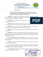 RHRC Resolutions No. 2014-01 to 2014-53