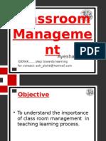 Classroommanagement Iderak 120214211024 Phpapp02