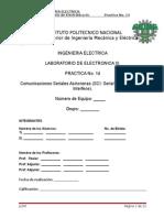 Practica No 14 Comunicaciones Seriales Asíncronas_SCI