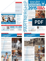 Islamic Relief South Africa Newsletter May 2015