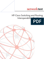 Hp cisco networking