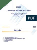 M2M DIODE – Conectando El Internet de Las Cosas - Presentación