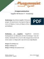 Gruppexamination Farmakologi