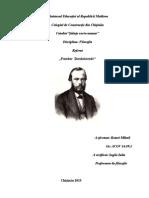 Feodor Dostoievski''