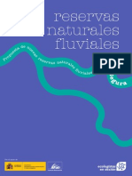 Propuesta de nuevas reservas naturales fluviales en la cuenca del Segura