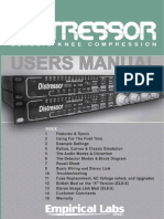 Distressor Manual