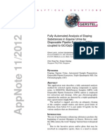 Fully Amutomated Analysis of Doping Substance in Equine Urine