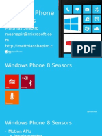 Windows Phone Sensors Publnjdic