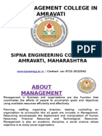 Best Management College in Amravati