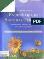 Introdução à Engenharia de Sistemas Térmicos
