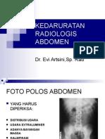 Kedaruratan Radiologis Abdomen