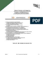Tema 1 Estructura Atomica Tabla