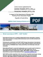 Gdf Suez Energy Southern Africa Co_ Ltd - Avon Peaking Power (Pty) Ltd and Dedisa