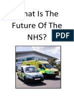 What Is The Future Of The NHS?
