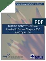 2400 Questoes Direito Constitucional - Com Gabarito