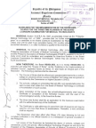 Board Resolution Med Tech No 11-2009