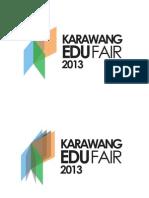 Proposan Pengajuan Logo Karawang Edu Fair