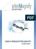 Daily Equity News Later and Market Highlights
