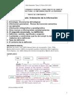 Lexicografía - Microestructura