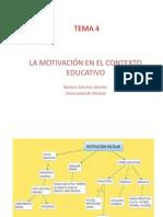 Tema 4 Motivación