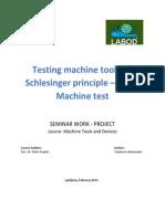 Seminar Schlesinger