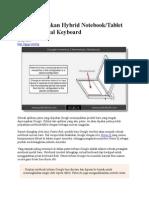 Google Patenkan Hybrid Notebook