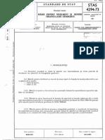 STAS 4294 73 Marci Pentru Nivelment Si Pentru Triangulatie Geodezica