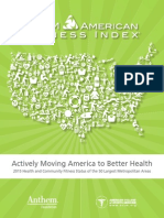 2015 American Fitness Index