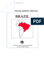 FAO Nutrition Country Profile Brazil (2000)