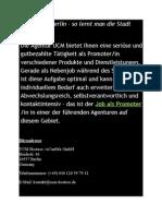 Promo Jobs Berlin