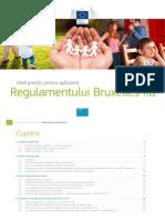 Brussels II Practice Guide Ro