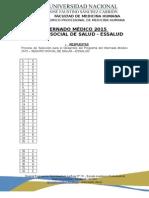 Internado Medico Essalud 2015 - Claves