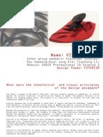 Futurism Design Roots presentation